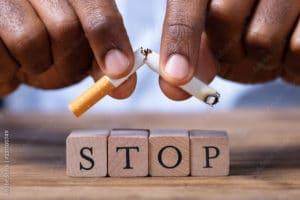 La dépendance au tabac et la réflexologie Dien Chan